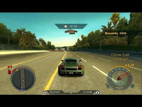 Need for Speed: Undercover PS2 Gameplay HD (PCSX2)