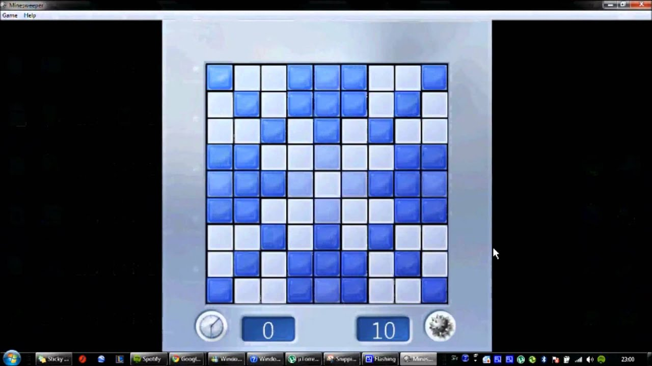 How To Enable Minesweeper In Windows 7!