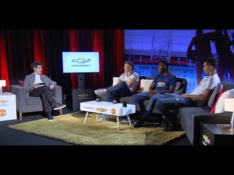 Man Utd Players and Fanswers | Everything But Football Football Show | Chevrolet FC