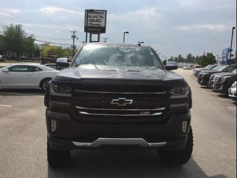 Banks Chevrolet In Concord Nh 2016 Chevy Silverado Black Widow   Baddest Truck On Earth - YouTube