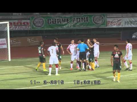 HONDA 2:3 PHUKET FC YAMAHA LEAGUE1  2015  LEAGUE 1 MATCH 05