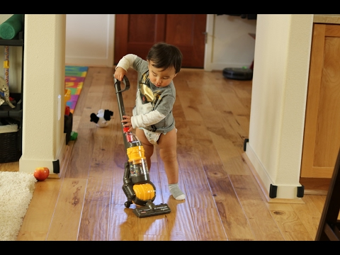 Toy Vacuum- Dyson Ball Vacuum With Real Suction And Sounds Review