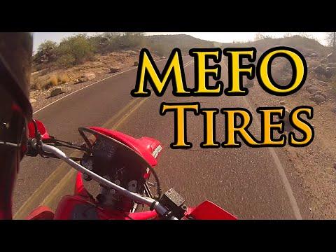 Honda XR650L - MEFO Explorer Tire Impressions