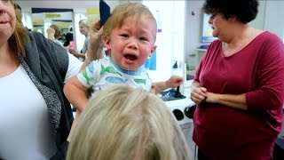 TODDLERS TERRIBLE HAIRCUT EXPERIENCE!!!