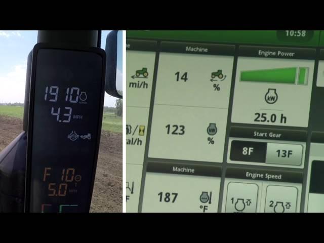 John Deere - Funcionamiento e23/e18 - El tractor no responde con cargas pesadas y consistentes