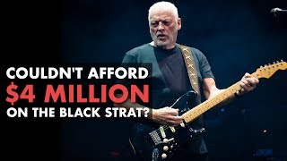 Gilmour's Black Strat on a Budget?   Friday Fretworks