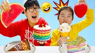 بولاماليوم والحلويات !! Boram and Candy Day