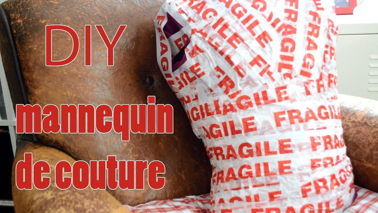 Diy r aliser un mannequin de couture youtube for Mannequin a couture reglable