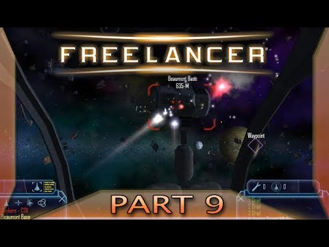 Freelancer - Part 9: Let's try some trading (with commentary) PC