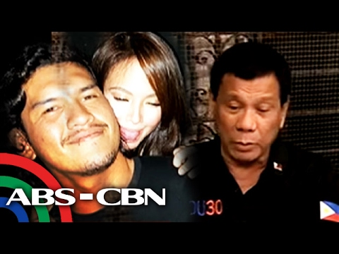 TV Patrol: Pangulong Duterte, umapela kay Baste na umuwi para makita ang kaniyang anak