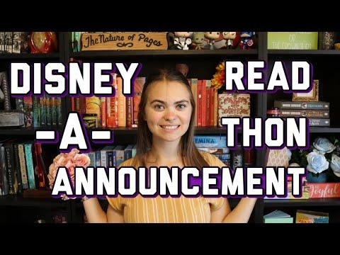 DISNEY READ-A-THON ANNOUNCEMENT!