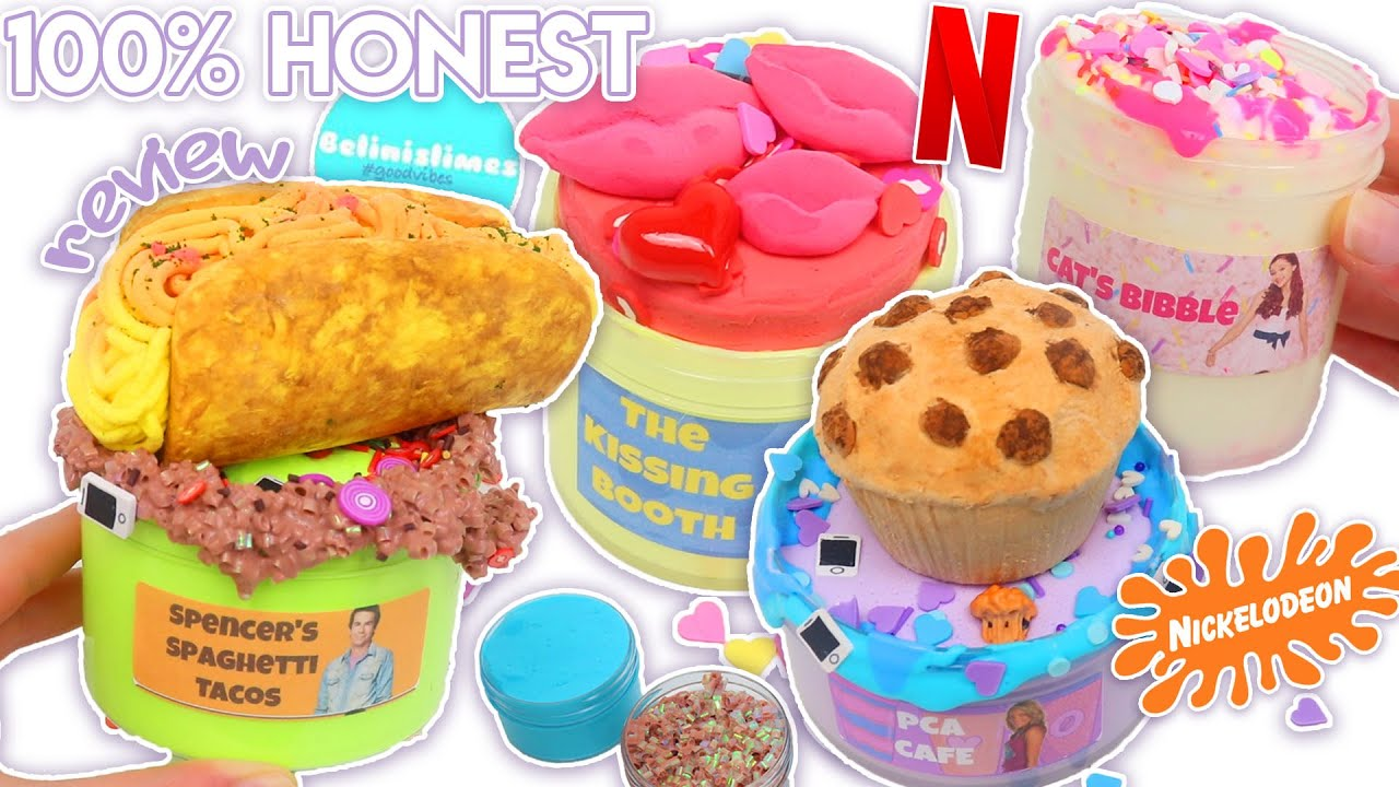 100% HONEST BELINISLIMES REVIEW (Reviewing Underrated TV DIY Clay Slimes!) *Very Satisfying!*