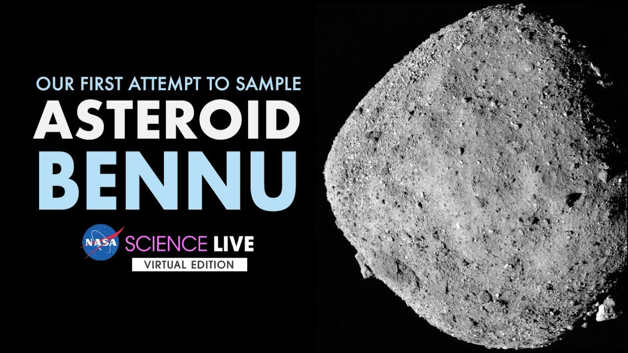 NASA Science Live: Our First Attempt to Sample Asteroid Bennu – NASA