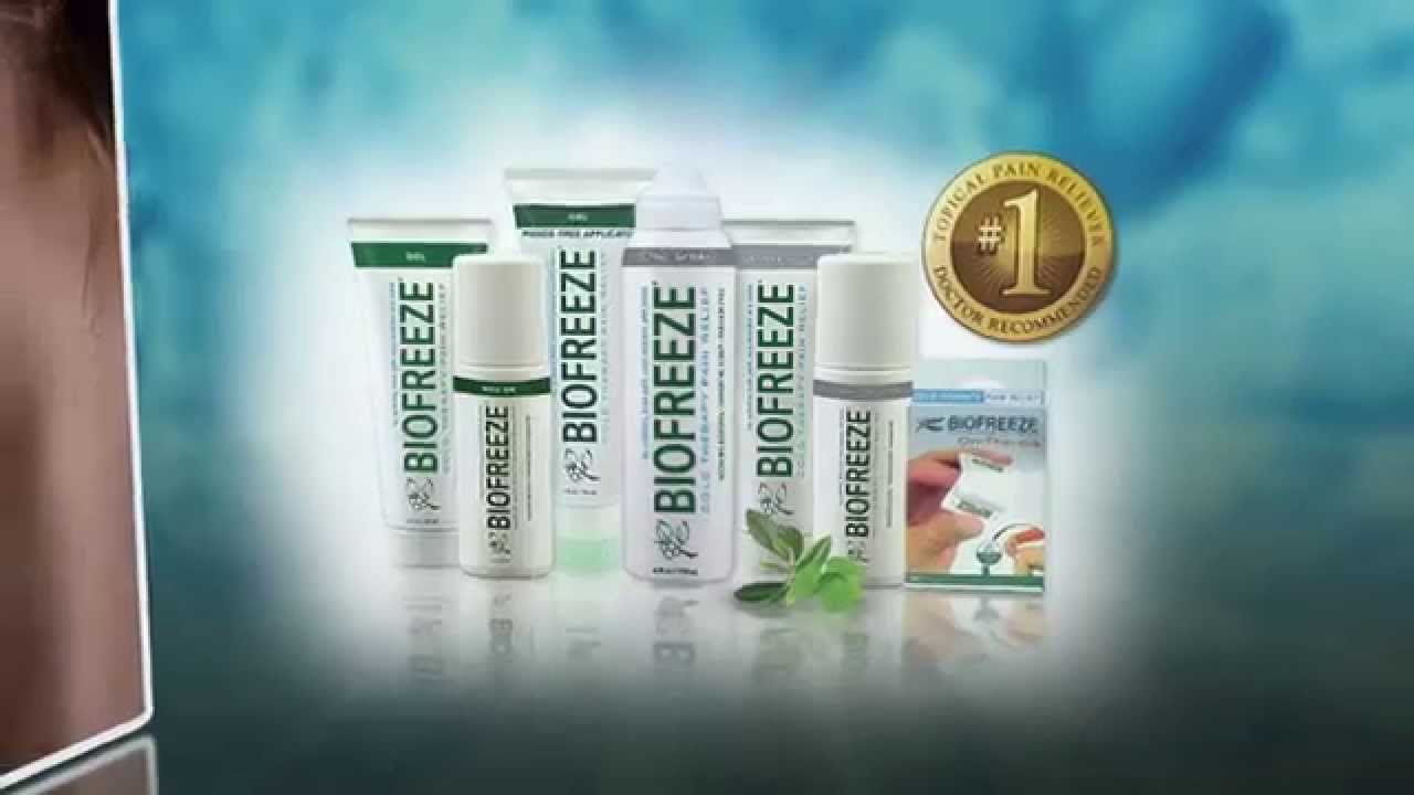 d97439794 The Science Behind Biofreeze-3m0s - YouTube