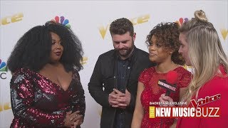 THE VOICE EXCLUSIVE BACKSTAGE - TEAM BLAKE