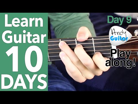 Guitar Day 9 -  'Hey Ya' Outkast Cover/ Demo/ Play along!