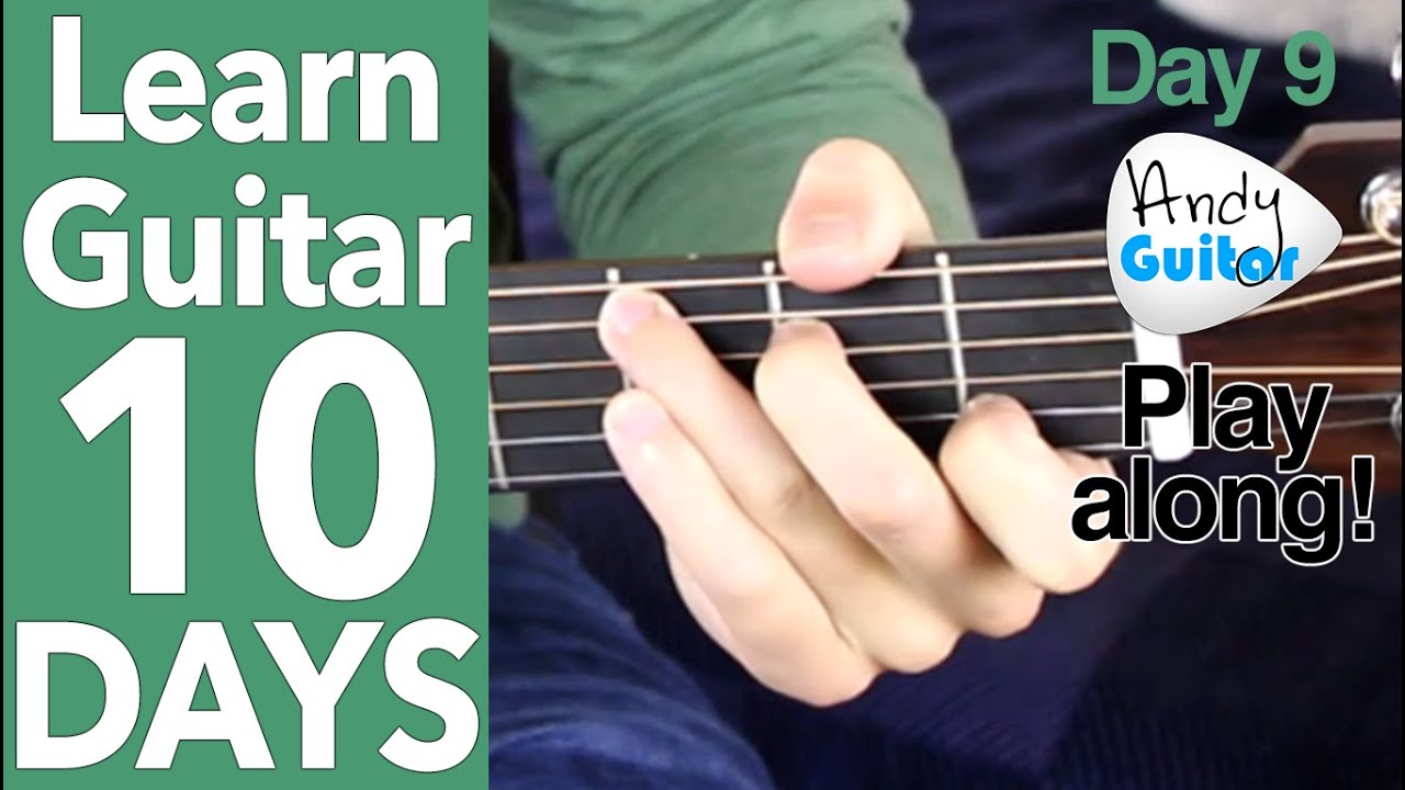 Guitar Day 9 Hey Ya Outkast Cover Demo Play Along Youtube