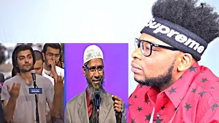 CATHOLIC REACTS TO An Atheist vs Dr Zakir Naik - Worth Watching AMAZING!!!