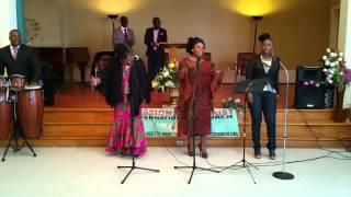 Satan Tu Es Vaincu - Groupe Psaumes 150 | Culte du 08 Mars 2015