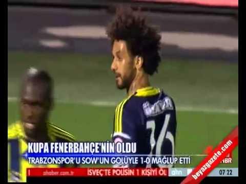 Fenerbahçe 1 - 0 Trabzonspor Maçın Geniş Özeti ( Ziraat Türkiye Kupası Finali 22.06.2013 )