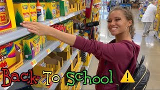Back To School Supplies Shopping For 3 Teens!😩