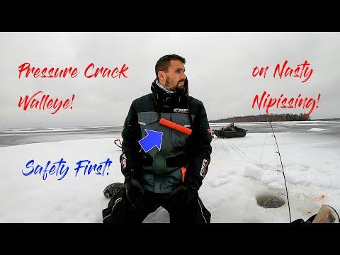 Pressure Crack Walleye, LAKE NIPISSING!