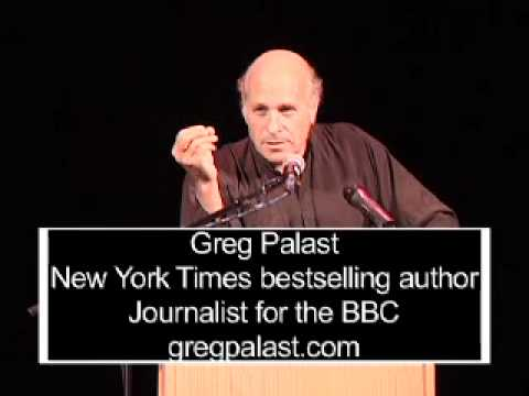 Greg Palast Told The Truth To Thousands At The Barrymore Theater, Madison WI