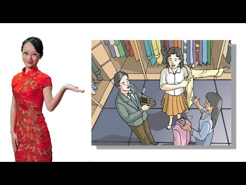 Learn Chinese: Free Mandarin Lesson 82 Buying clothes