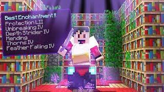 I Became a GOD in Minecraft 1.14! (Enchanting Upgrades) - Episode 13