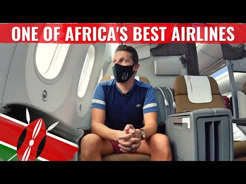 ONE OF AFRICA'S BEST AIRLINES - KENYA AIRWAYS 787 BUSINESS CLASS!