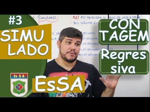 ESA CONTAGEM REGRESSIVA (SIMULADO) #3
