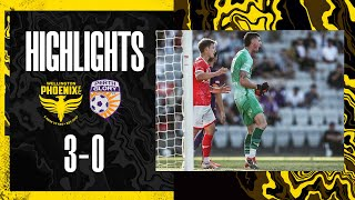 Highlights: Wellington Phoenix vs Perth Glory