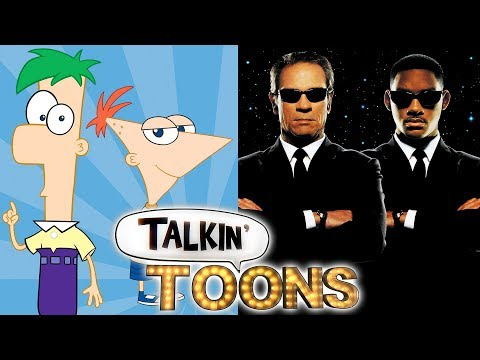 Phineas and Ferb Are The Men in Black! Talkin' Toons w Rob Paulsen