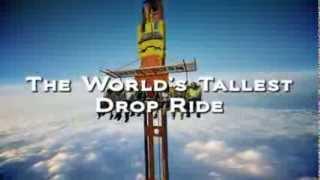 Zumanjaro  Drop of Doom (Six Flags) - Highest Free Fall Tower Teaser