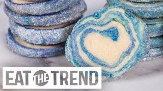 How to DIY Easy Geode Cookies | Eat the Trend
