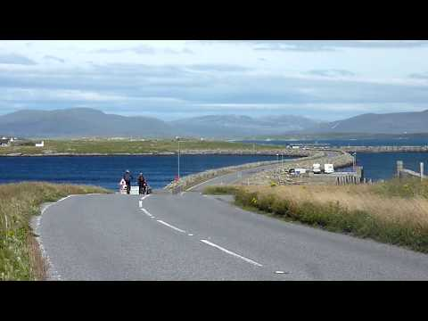 Cycling on North Uist