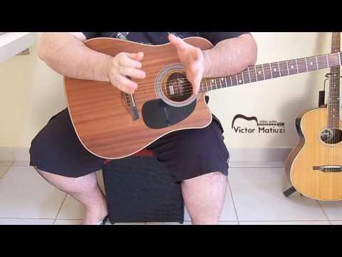 Cristiano Araujo - Voce mudou - Video aula Solo do meio
