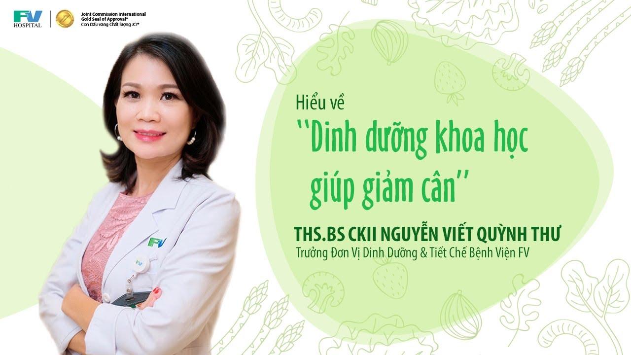 Download DINH DƯỠNG KHOA HỌC GIÚP GIẢM CÂN | Bệnh viện FV