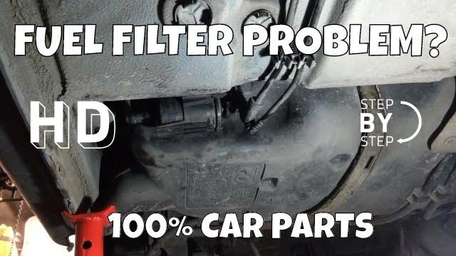 How To Change Replace Fuel Filter Peugeot 206