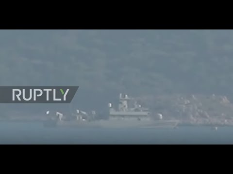 Turkey: Greek warship seen off island of Kastellorizo following Turkish oil search