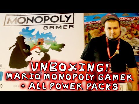 Mario Monopoly Gamer + ALL Power Packs!