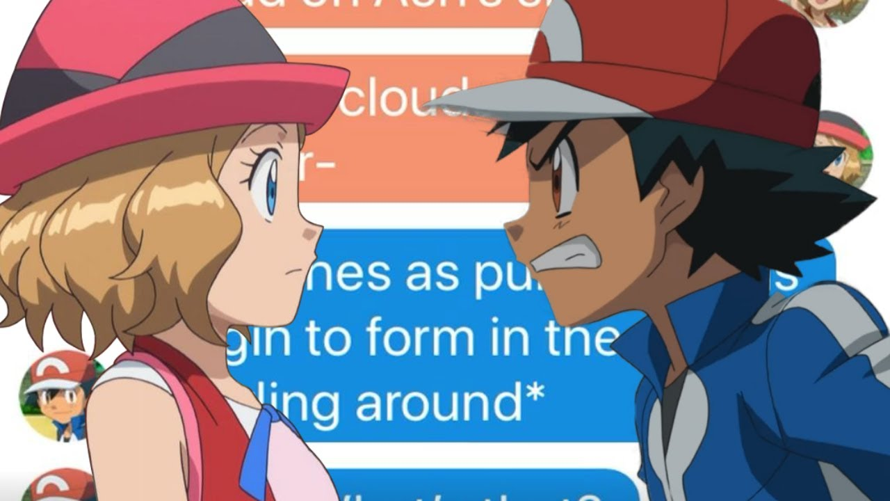 Download Ash and Serena Fight!