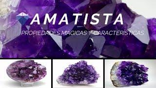 Amatista - Propiedades Mágicas y Características | Minerales de colección YouTube Videos