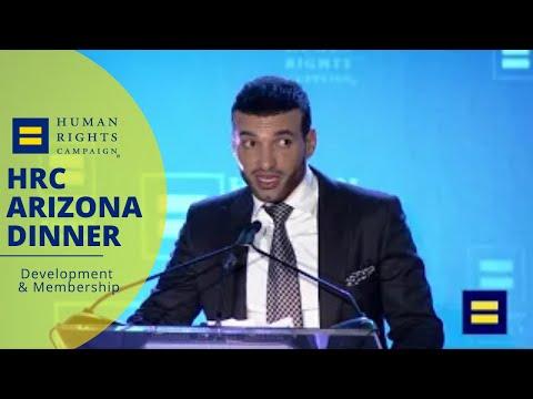 Haaz Sleiman Honored with HRC Visibility Award in Arizona