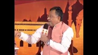 शिखर सम्मेलन में बीजेपी सांसद जगदम्बिका पाल और सपा नेता रामगोविंद चौधरी के बीच जोरदार बहस