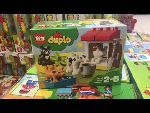 Lego 10870 - Tiere auf dem Bauernhof - 10870 | DUPLO® | LEGO Shop
