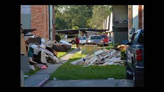 More Hurricane Harvey flooded areas from Orange, Texas