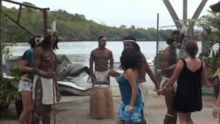 Dancing With Taino Indians in Cuba