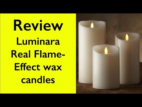 Review Luminara Flame Effect Wax Candle - How Does It Work?