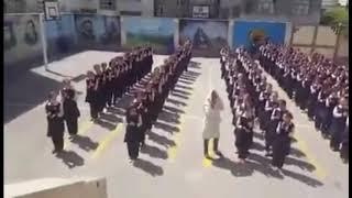 Иран. Песня « Геташен» в исполнении девочек армянской школы в Тегеране